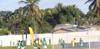 As equipas do Desportivo e Ferroviário, ambas de Nacala, empataram a uma bola a contar para 5ª jornada do Moçambola 2019