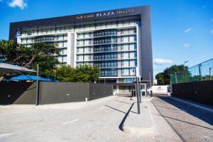 Este é o Grand Hotel Plaza, local para onde Victor Borges se mudou