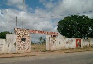 Antigo complexo desportivo do Benfica de Nampula, no Muahivire