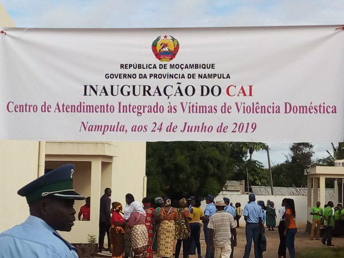 A cidade de Nampula já dispõe de um centro de atendimento a vítimas de violência doméstica