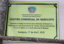 Centro Comercial de Namicopo, Shoping do Povo, inaugurado por Americo Iemele