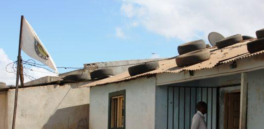 Edifico onde funciona o MDM na cidade de Nampula