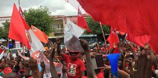 Os membros da frelimo estao a ser acusados de preparem fraude na cidade de Nampula