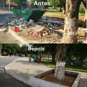 Amurane recureperou o parque popular na cidade de Nampula