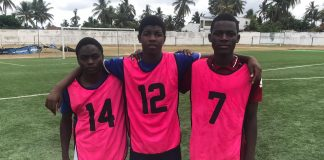 A Associacao Black Bulls seleccionou tres atletas na cidade de Nampula para irem aprender a jogar na sua academia