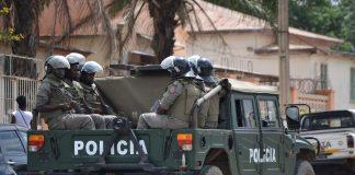 A policia quer reprimir oposicao se manifestarem-se