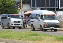 Ha encurtamento de chapa-100 na cidade de Nampula