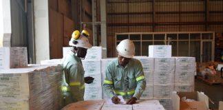 A vale explora carvao mineral em Tete e esta a contribuir no combate ao covid-19 em Mocambique