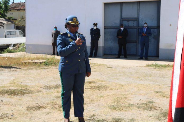 Pela segunda vez Nampula recebe uma mulher para comandar a PRM