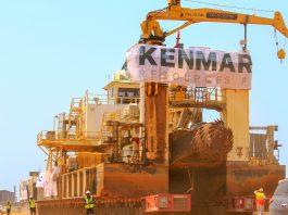 Kenmare fabrica de areias pesadas